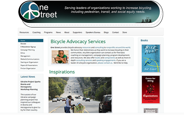 One Street website image