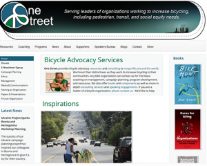 One Street Bicycle Advocacy